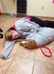 Katie Dz and a Patient