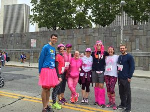 UVS Runs in the Race For the Cure October 1, 2016