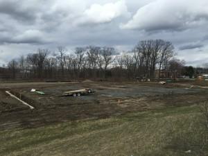 Construction progress at Upstate Veterinary Specialties' new location