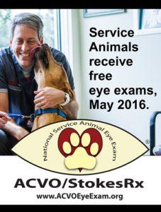ACVO/StokesRx Service Animal Exams